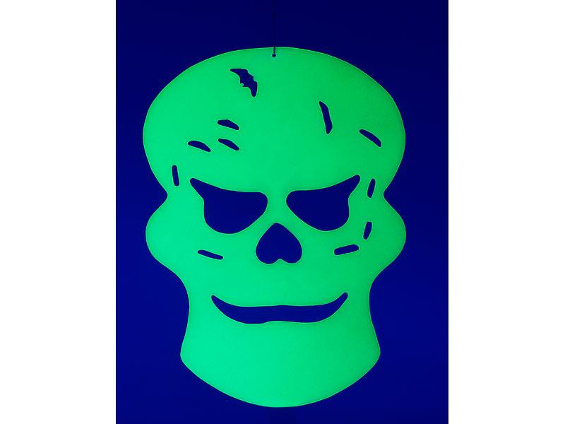 Infactory Horror Dekos Glow In The Dark Halloween Fensterdeko