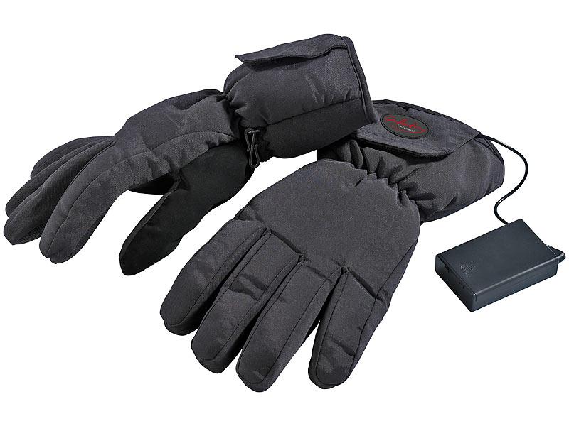 absolut stilvoll Detaillierung Wählen Sie für authentisch infactory Fingerwärmer: Beheizbare Handschuhe Gr. L / 8,5 ...