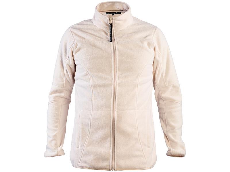 Größe L Fleece-Jacke für Herren Fleecejacken für Herren beige