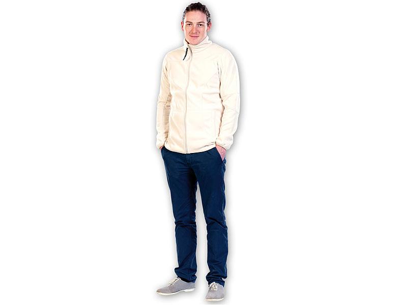 PEARL outdoor Fleecejacken für Herren: Fleece Jacke für