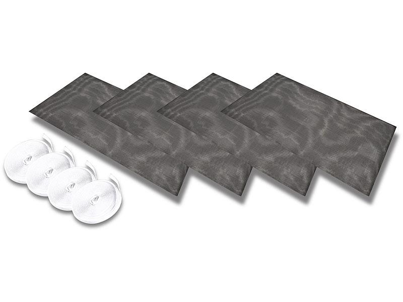 infactory moskitonetz fliegengitter f r fenster 130 x. Black Bedroom Furniture Sets. Home Design Ideas