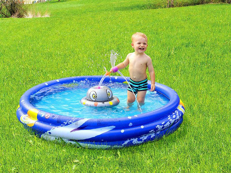 ... Infactory Erlebnis Planschbecken Mit Rotierendem Wassersprinkler  Infactory Kinder Planschbecken