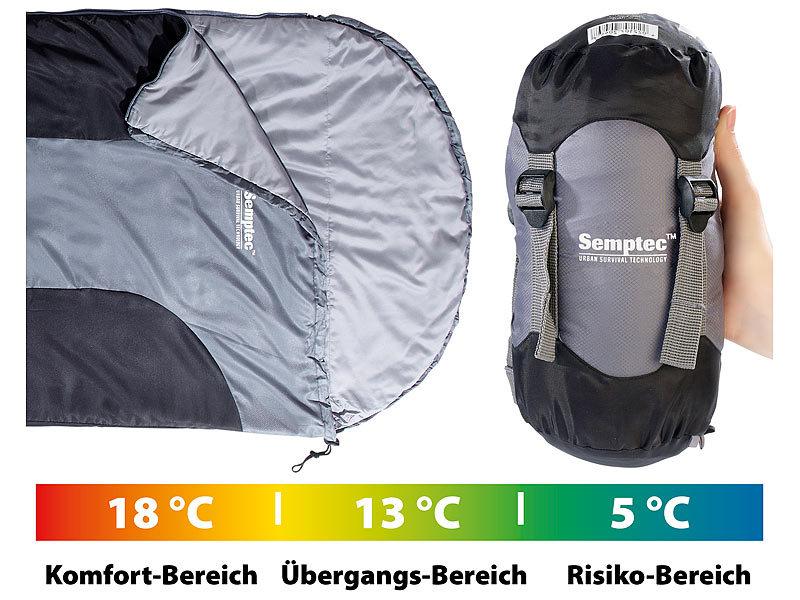 semptec sommerschlafsack ultraleichter sommer schlafsack mikrofaser 210 x 75 x 60 cm. Black Bedroom Furniture Sets. Home Design Ideas