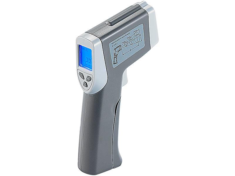 agt pyrometer ber hrungsloses profi infrarot thermometer mit laser zielf hrung ir thermometer. Black Bedroom Furniture Sets. Home Design Ideas