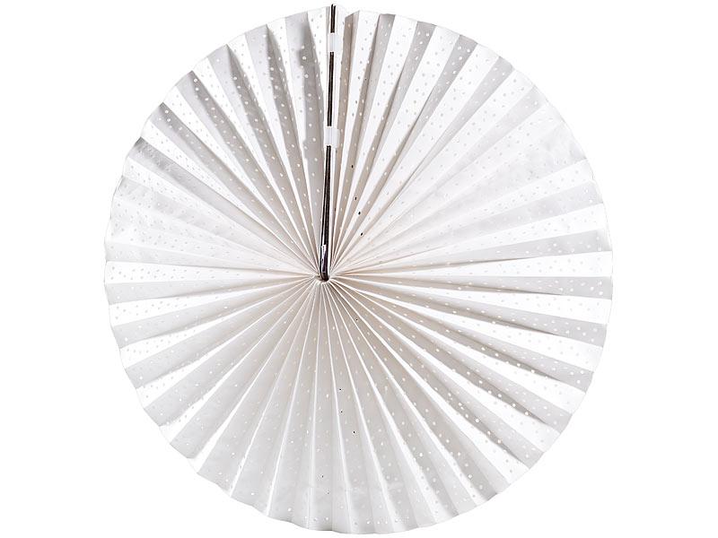 lunartec papierlampe papierleuchte rad wei inkl fassung und kabel lampion mit lampenfassung. Black Bedroom Furniture Sets. Home Design Ideas