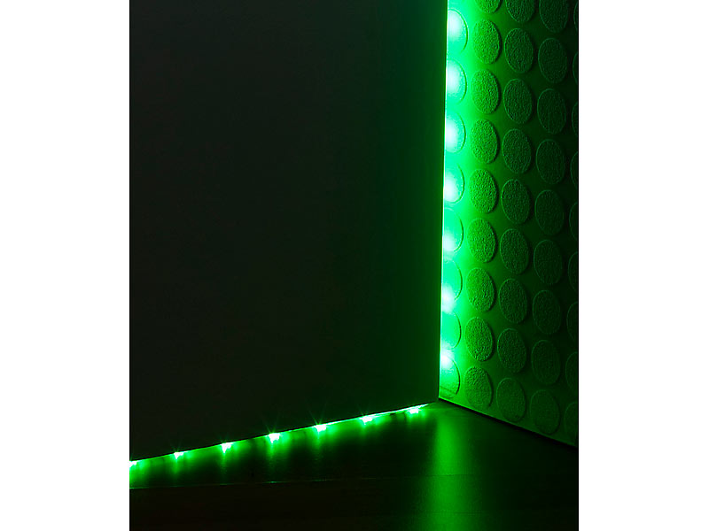 lunartec multicolor led streifen 150 smd leds 5 m fernbed ip68. Black Bedroom Furniture Sets. Home Design Ideas