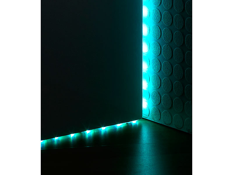 lunartec multicolor led strip 150 smd leds 5 m fernbedienung ip68. Black Bedroom Furniture Sets. Home Design Ideas