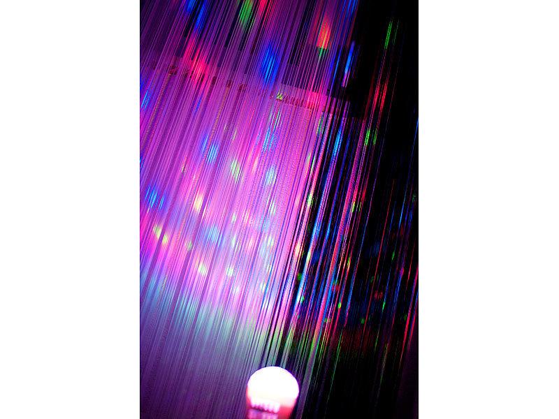 Lunartec Disco Glühbirne: Disco-LED-Lampe mit Sternenfunkel-Effekt ...