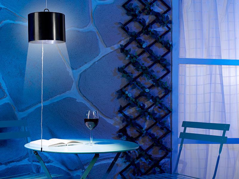 lunartec solar h ngeleuchte au en spritzwassergesch tzte. Black Bedroom Furniture Sets. Home Design Ideas