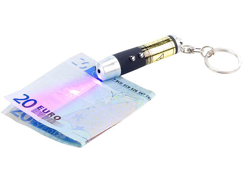 PEARL Laser: 3in1-Laserpointer mit UV-Licht und LED-Taschenlampe ...