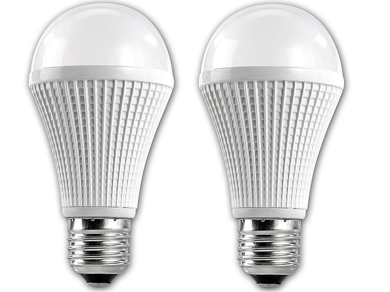 luminea highpower led lampe e27 9w dimmbar warmwei. Black Bedroom Furniture Sets. Home Design Ideas