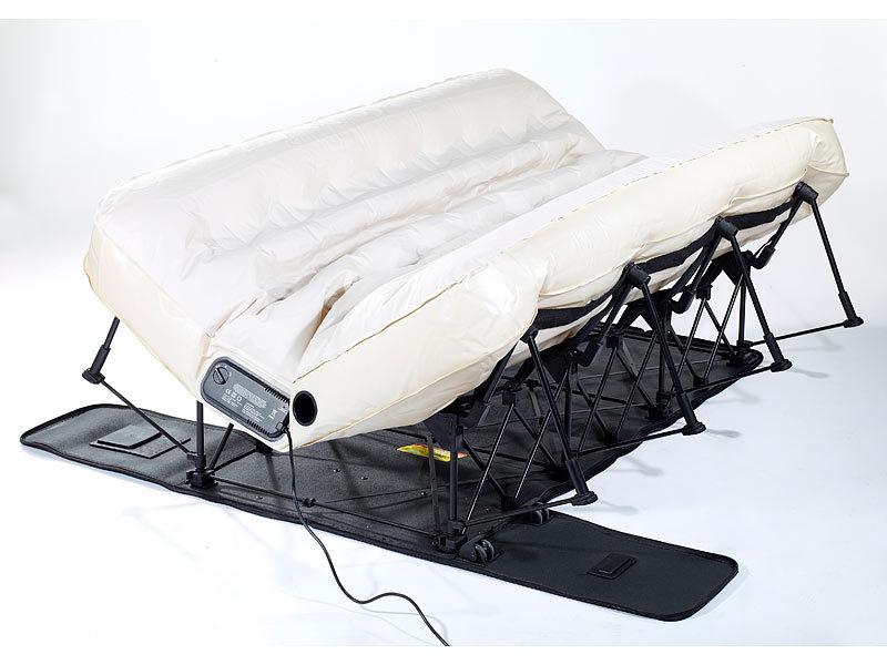carlo milano luxus g ste luftmatratze luxus luftbett mit. Black Bedroom Furniture Sets. Home Design Ideas