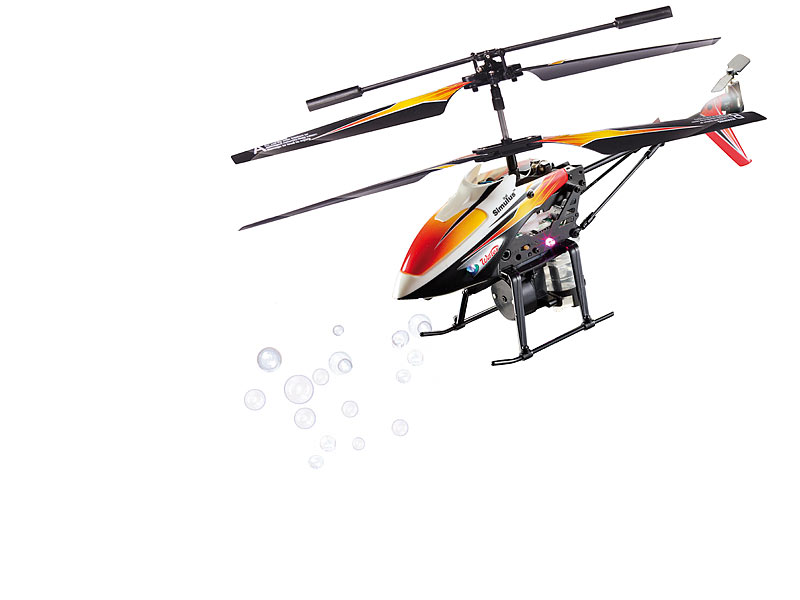 Simulus accu helicopter kanal hubschrauber gh