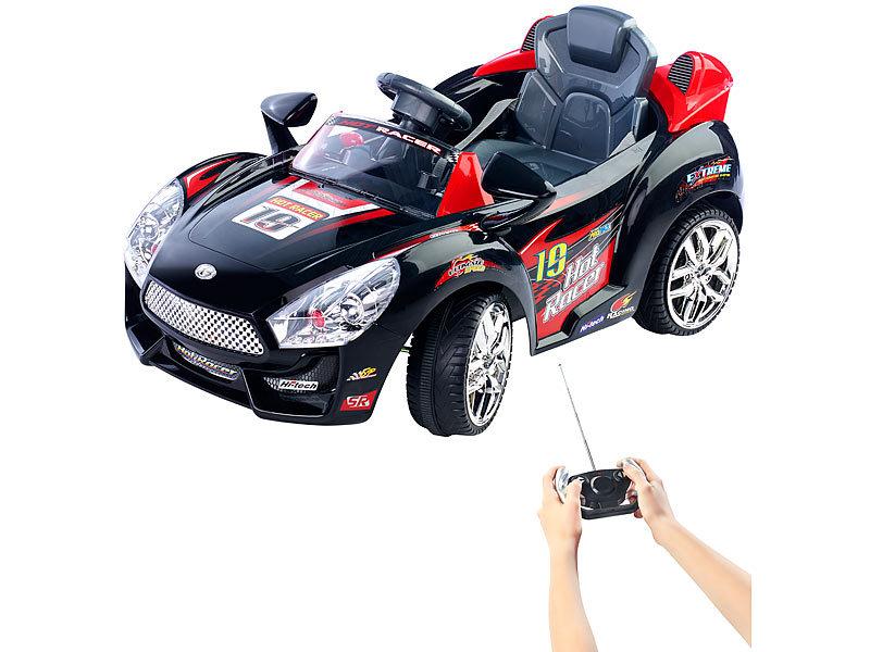 playtastic kinderautos sportliches elektro kinderfahrzeug mit fernsteuerung elektroautos f r. Black Bedroom Furniture Sets. Home Design Ideas
