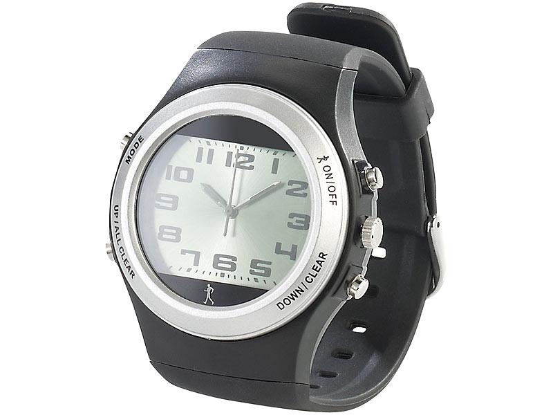 Pearl Sports Schrittzähler Uhr Sport Armbanduhr Mit Schrittzähler