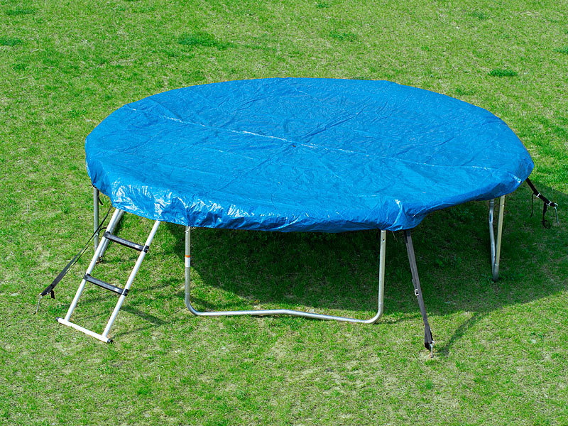 pearl sports trampolin f r garten abdeck plane f r trampoline 305 cm trampolin sicherheitsnetz. Black Bedroom Furniture Sets. Home Design Ideas