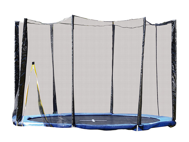 pearl sports trampolin garten sicherheitsnetz f r. Black Bedroom Furniture Sets. Home Design Ideas