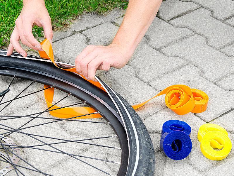 PEARL sports Pannenschutzband: Pannenschutzeinlage für Fahrradreifen ...