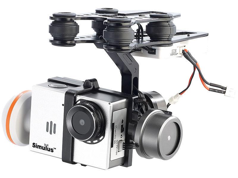 simulus quadrocopter kamerahalterung mit kardanischer. Black Bedroom Furniture Sets. Home Design Ideas