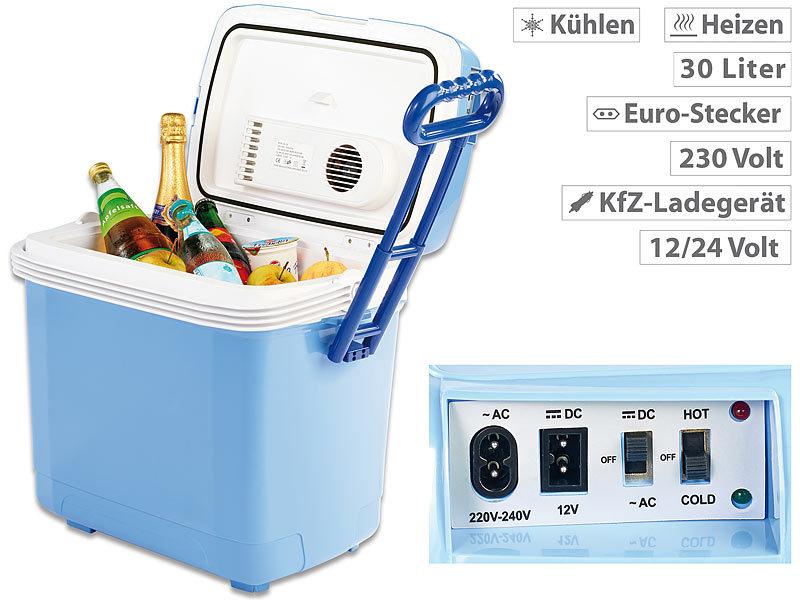 Xcase Kühl-Boxen: Thermoelektrische Kühl- und Wärmebox, 30 Liter ...