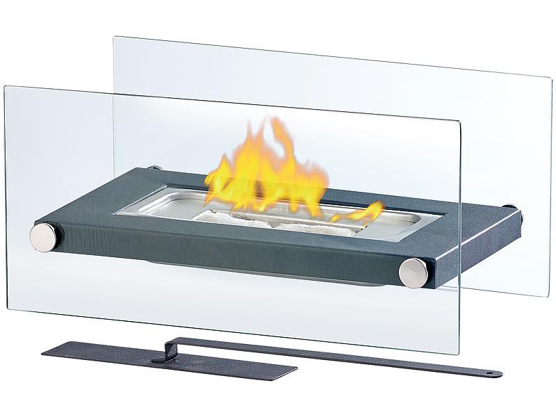 carlo milano bio ethanol ofen gl serner tischkamin f r bio ethanol lounge feuer. Black Bedroom Furniture Sets. Home Design Ideas