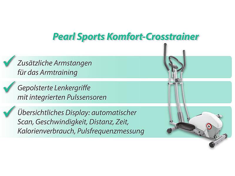 Pearl Sports Fitness Stepper Komfort Crosstrainer Mit 5 Kg