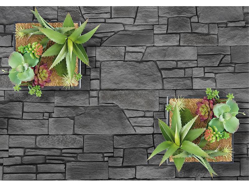 carlo milano pflanzwand vertikaler wandgarten luna mit. Black Bedroom Furniture Sets. Home Design Ideas