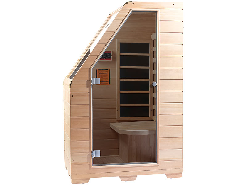 newgen medicals sitzsauna f r zuhause kompakte infrarot. Black Bedroom Furniture Sets. Home Design Ideas