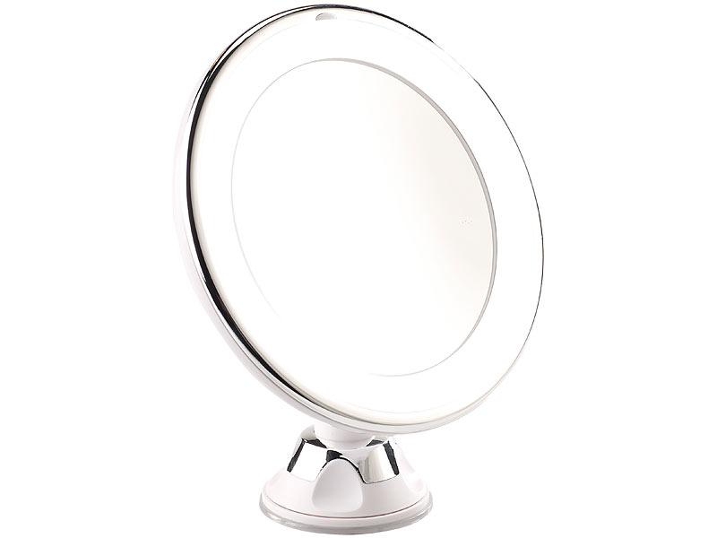 Gut Sichler Beauty Rasier- & Kosmetikspiegel, Ø 17,5 cm, 5-fach, 25  YW53