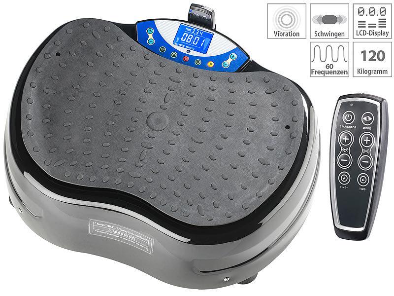 newgen medicals Vibrationsboard: 3D-Vibrationsplatte WBV-620.3D ...