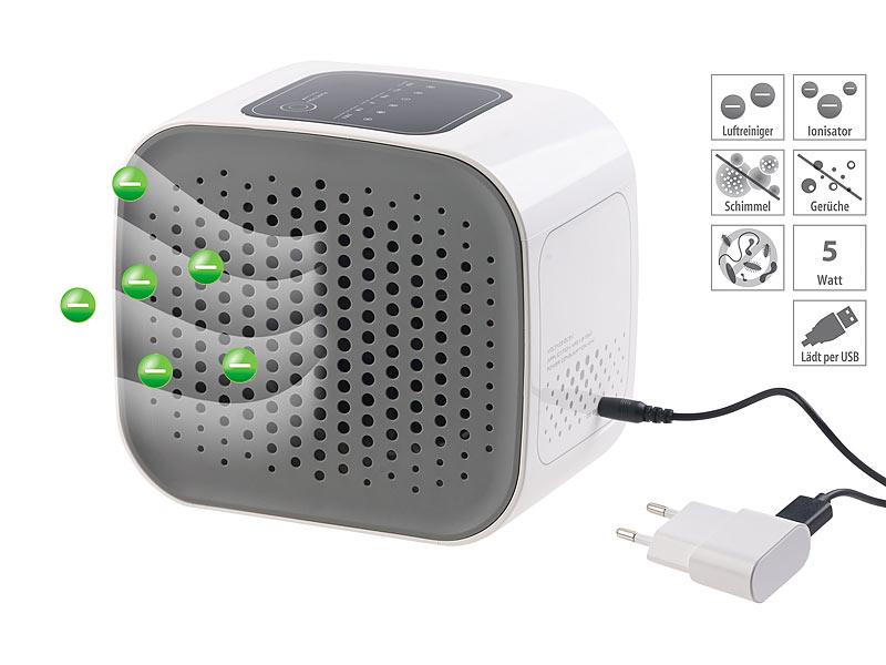NEU USB HEPA Luftbefeuchter Luftreiniger Lufterfrischer Ionisator Aroma Diffuser