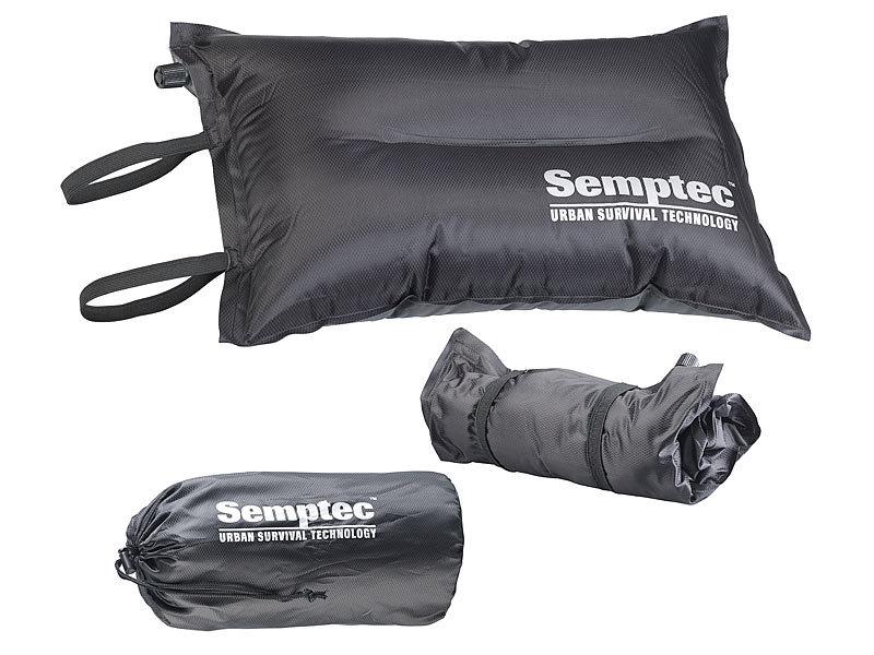 2in1-Strandtasche und aufblasbares Schwimmkissen Handtasche 31 x 33 cm
