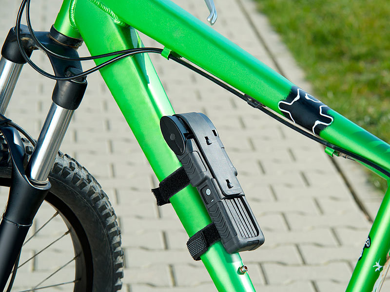 Entfernungsmesser Fahrrad : Semptec fahrradschlösser fahrrad motorrad faltschloss mit