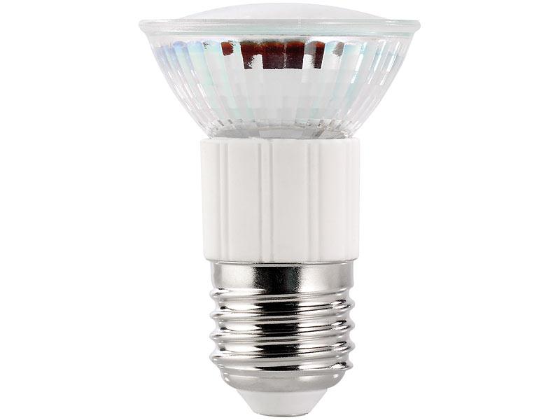 luminea led spot strahler led spot e27 3 3 watt wei 5000 k 380 lm neutralwei e e27 led spot. Black Bedroom Furniture Sets. Home Design Ideas