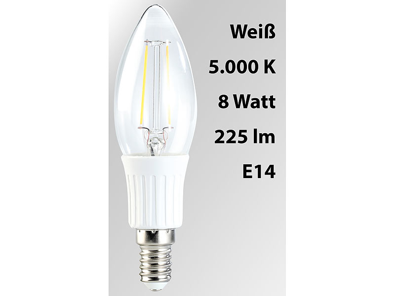 10er Set 5 Watt E27 Birne SMD-LED Leuchtmittel neutralweiß 270 lumen Lampe 4200K