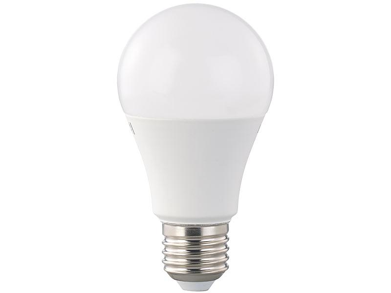luminea led lampe a 12 w e27 dimmbar warmwei 2700. Black Bedroom Furniture Sets. Home Design Ideas