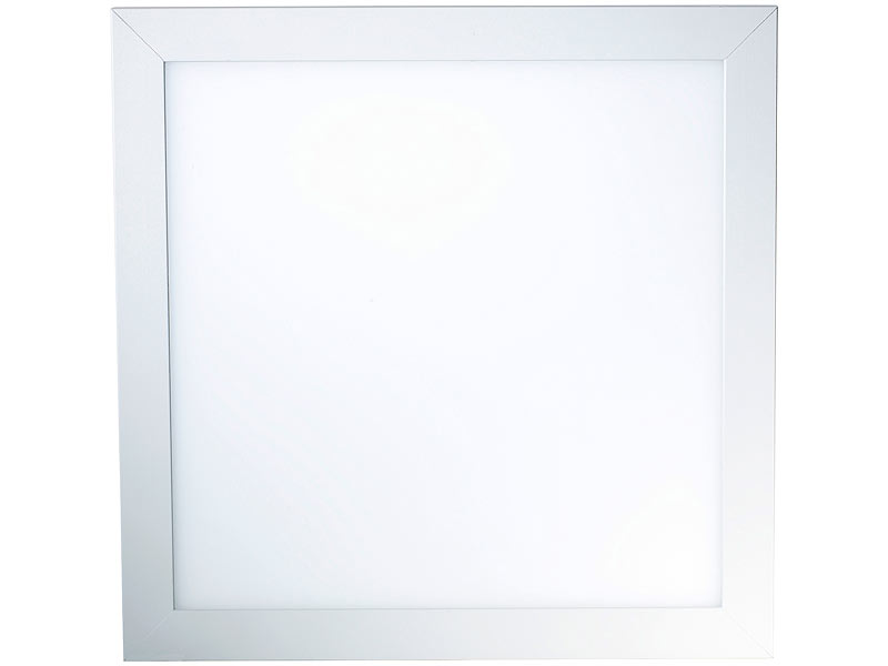Lunartec LED-Lampen Slim: LED Panel 30 x 30 cm, 30W, 3000K (warmweiß ...