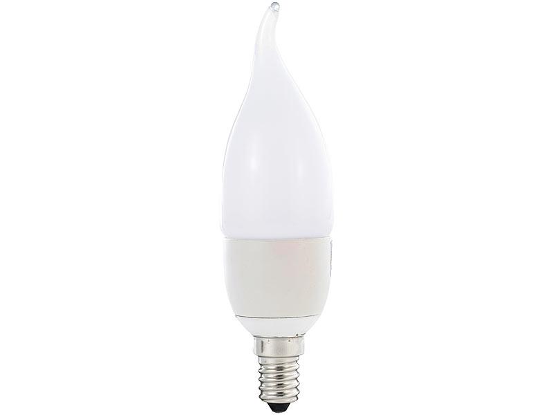 luminea geschwungene led kerzenlampe 6 w e14 ba35 warmwei. Black Bedroom Furniture Sets. Home Design Ideas