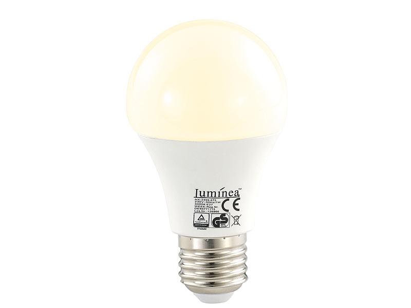 warmweiß 2er Set 6,5 Watt SMD LED Leuchtmittel E14 600 Lumen Kerzen Form EEK A