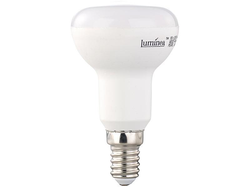 Luminea led reflektor r50 e14 6 w k 430 lm for Led leuchtmittel e14