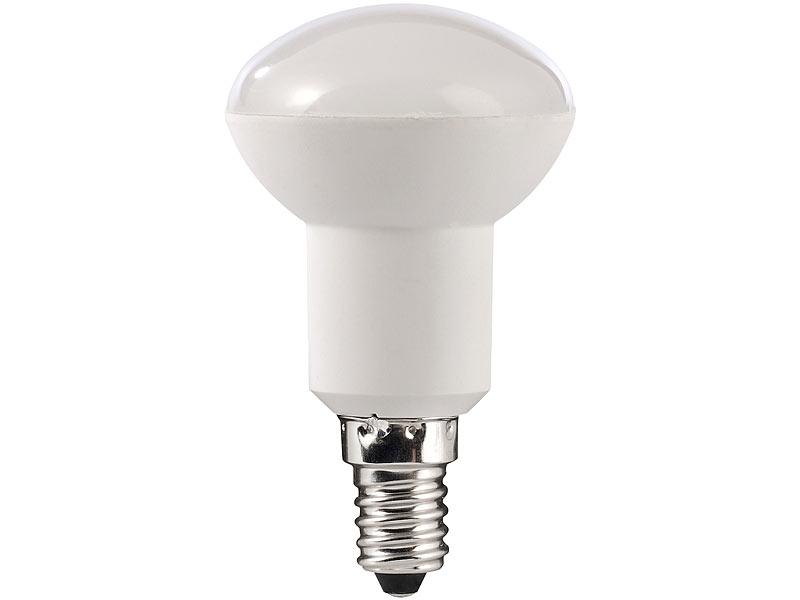 luminea led birnen e14 led reflektor r50 e14 5 5 watt 2700 k 430 lm warmwei. Black Bedroom Furniture Sets. Home Design Ideas
