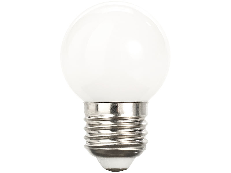 Luminea Lamps: Retro-LED-Lampe, E27, 3 W, G45, 250 lm, warmweiß ...