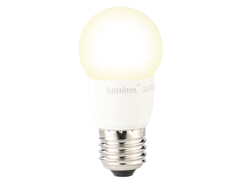 Luminea Warmweisse E27 Led Birne Led Tropfen E27 3 W 250 Lm 160