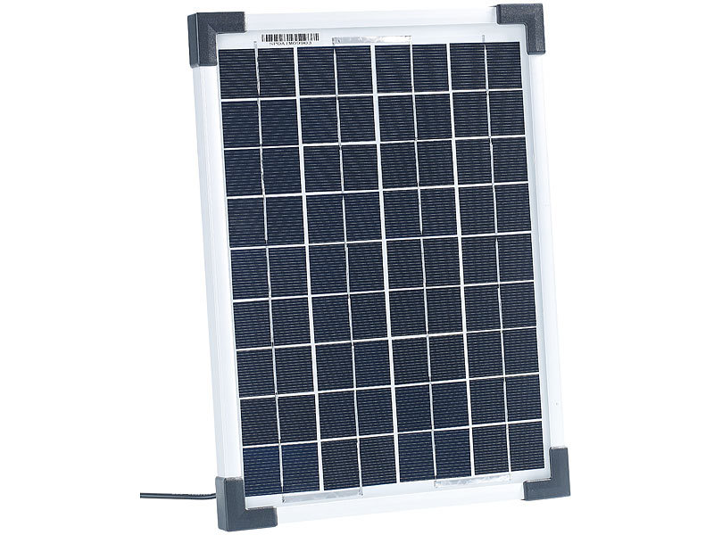 20W SOLARPANEL MONOKRISTALLIN Solarmodul Ladegerät mit