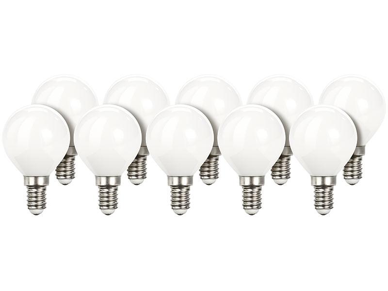 Luminea Led Kugel E14 Retro Led Lampe G45 3 W E14 200 Lm