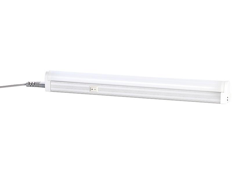 luminea led unterbaulampen led t5 unterbauleuchte warmwei 4 5 w 30 cm led unterbaulampen. Black Bedroom Furniture Sets. Home Design Ideas
