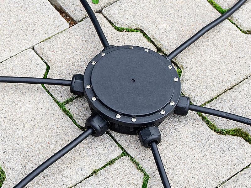 outdoor kabel verbindungsbox 6 fach in baar kaufen bei. Black Bedroom Furniture Sets. Home Design Ideas