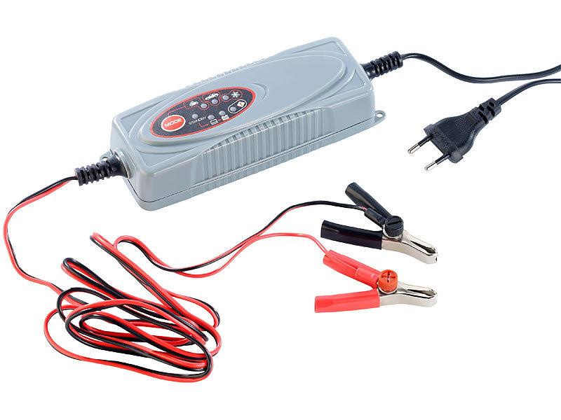 lescars automatisches kfz batterieladeger t 3 8 a 12 v. Black Bedroom Furniture Sets. Home Design Ideas