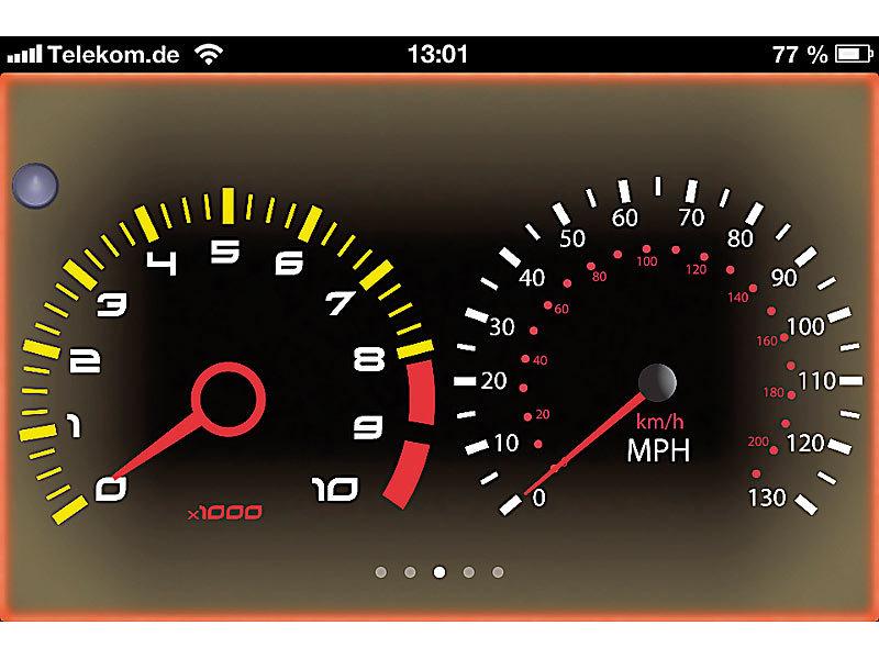 Lescars OBD2: OBD-2-Profi-Adapter mit WLAN für iOS- und Android ...