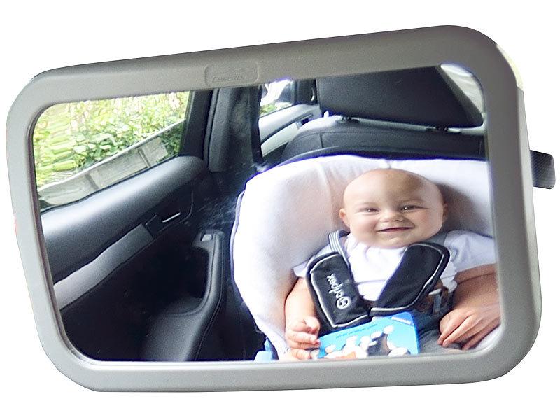 Spiegel Baby Auto : Lescars babyspiegel auto: baby spiegel fürs auto rückspiegel